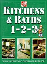 Kitchens & Baths 1-2-3 HARD COVER