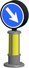 Viessmann 5085 H0 Verkehrszeichen 222 mit LED-Beleuchtung #NEU OVP#