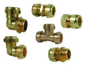 CONEX Klemmring Verschraubung 10 12 15 18 22 28mm Kupferrohr Verbindung