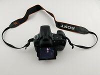 Sony a350 14.2MP Digital SLR Camera - Black, LCD Damaged