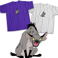 Disney Lion King Villain Laughing Hyena Ed Scar Movie Cartoon Unisex Tee T-Shirt