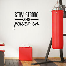 Stay Strong And Power On