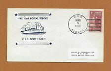 USS PICKET (YAGR-7) NAVY RADAR PICKET SHIP COVER 1956 1st DAY POSTAL SERVICE