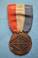 WWI 12th Division Military Meet Medal, Division Infantry Contest, ID'd H. Mason