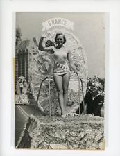 Anita Treyens, Miss France 1956, à l'élection de Miss Univers à Long Beach