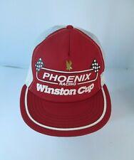 Vintage Snapback Trucker Hat Cap Winston Cup Phoenix Racing NASCAR USA