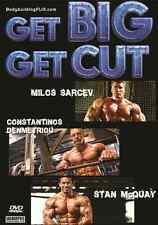 bodybuilding dvd GET BIG GET CUT-MILOS, CON, STAN