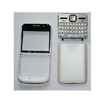 COVER HOUSING COMPATIBILE per NOKIA E5 E5-00 BIANCA CON TASTIERA