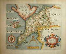 """CAENARVO COMITATUS FOR CAMDEN'S """"BRITANNIA"""" 1607-37."""