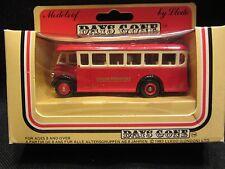 LLEDO  Days-Gone  Half Cab Singledeck Bus  Red  #17004  London  NIB  (11,1)