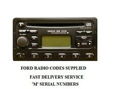 FORD RADIO CODE UNLOCK 3000-4000-5000-6000 CD RADIO LOST CODE? FREE DELIVERY