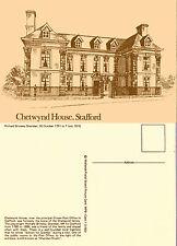 1980 CHETWYND HOUSE STAFFORD MIDLAND POSTAL BOARD MPB 1 MINT POSTCARD