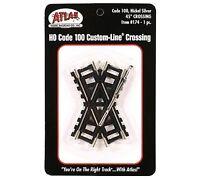 Atlas 174 Code 100 45 Degree Custom Crossing New Free Shipping