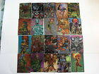 1994 Cyber Force Chromium 72 Card set from Topps