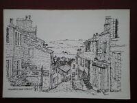 POSTCARD YORKSHIRE HAWORTH MAIN STREET