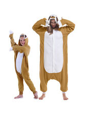 Kids Or Adult Kigurumi Pajamas Costume Pyjamas Brown Sloth Cosplay Robe