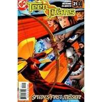 Teen Titans (2003 series) #21 in Near Mint + condition. DC comics [*j7]