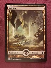 Battle for Zendikar Full Art Land  Swamp #262  VO  -  MTG Magic (Mint/NM)