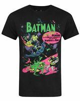 Jack Of All Trades Batman Neon Cover Men's T-Shirt