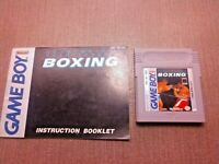 Nintendo Game Boy Cart Manual Only Tested Heavy Weight Championship Boxing CLEAN