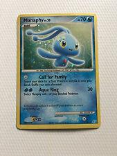 Pokemon Card Manaphy Rare Holo 4/12 EX Trainer Kit Rare! Free Shipping!