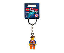 THE LEGO MOVIE Emmet Minifigure Key Chain 850894