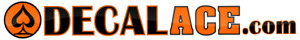 Bulk Quantity Wholesale Vinyl Decal Car Sticker sets of 50 CHOOSE SIZE COLOR