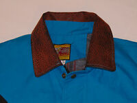 BEE-WILD HEAVY DUTY CANVAS WESTERN RODEO STYLE JACKET !WARM BLANKET LINING! MED