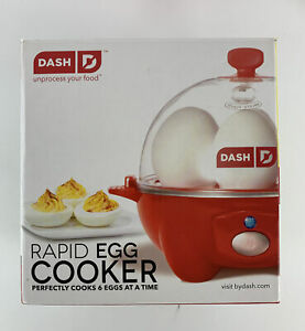 Dash Rapid Egg Cooker 6 Eggs Capacity Get Delicious Healthy Results New 2016