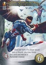CAPTAIN AMERICA FALCON Upper Deck Marvel Legendary FLYING SHIELD BLOCK