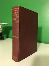 c1900 Divine Comedy The Vision of Dante Alighieri Hell Purgatory Paradise Red