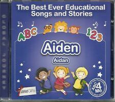 THE BEST EVER EDUCATIONAL SONGS & STORIES PERSONALISED CD - AIDEN (AIDAN)