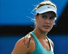 EUGENIE BOUCHARD - HAND SIGNED 8x10 PHOTO AUTHENTIC AUTOGRAPHED PICTURE w/ COA
