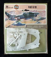 AIRFIX FIAT G-91 AIRCRAFT MODEL KIT IN SCALA 1/72 confezione blister