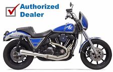 Stainless Steel Bassani 2 into 1 Road Rage III SS 3 Full Exhaust System Pipe FXR