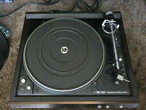 vintage Dual Turntable Record Player CS 626 Direct Drive+ Ortofon ULM 55E German