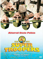 Super Troopers  (DVD) DISC & ARTWORK ONLY NO CASE UNUSED CONDITION SHIPS FAST
