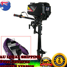 2 Stroke Outboard Motor 3.6HP Petrol Power Fishing Boat Engine with CDI System