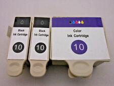 3PK 10 XL Black & Color Inkjet for Kodak ESP 9250 7250 5250 3250 5210 ESP9 ESP7