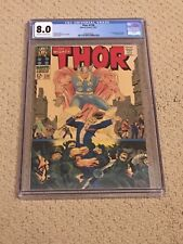Thor 138 CGC 8.0 OW/White Pages (1st app Ogur & Classic Cover 1967!!)