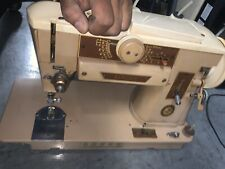Vintage Singer 401A Slant O Matic Sewing Machine No Foot Pedal
