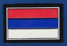 SERB ARMY OF KRAJINA FLAG, FIRST CAP PATCH FROM 1990s, Very rarre patch !
