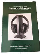 Hammacher Schlemmer Long Range Wireless TV Headphones