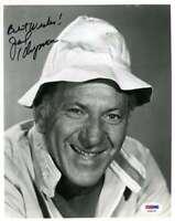 Jack Klugman Psa Dna Coa Hand Signed 8x10 Photo Autograph