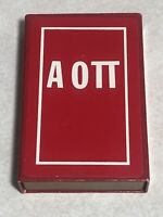 Vintage ΑΟΠ Playing Cards In Original Box Used Very Good