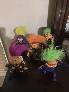 Hasbro Battle Trolls Warriors Original 1992 Lot of 5 Vintage Set