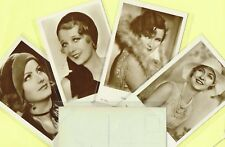 ROSS VERLAG - 1930s Film Star Postcards produced in Germany #5046 to #5120