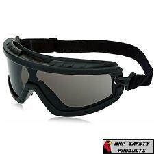 Radians Barricade Smoke/Gray Anti Fog Safety Goggles Glasses Lightweight Z87+