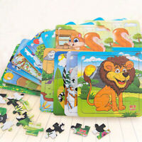 Children Wooden Jigsaw Puzzle Classic Toys For Education And Learning Kids Toys~