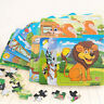 Children Wooden Jigsaw Puzzle Classic Toys For Education And Learning Kids Toy v